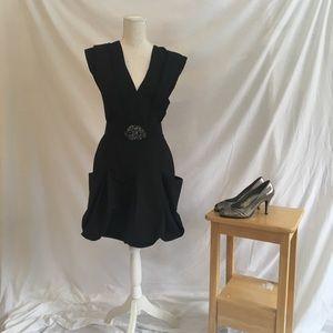 BCBG Black Cocktail Dress